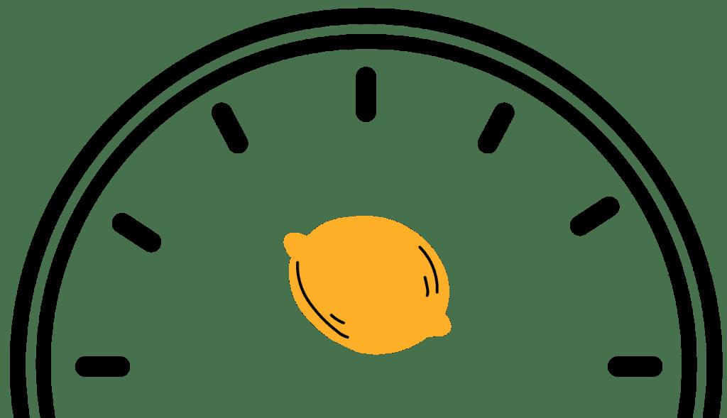 Tidj voor gezond - citrus klok
