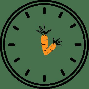 Klok wortel