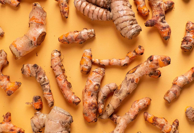 Superfoods wortelgroenten kurkuma